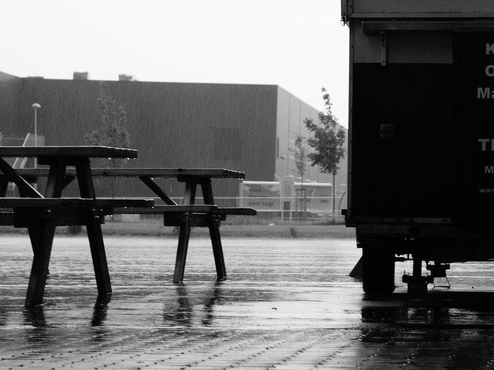 Dánský déšť